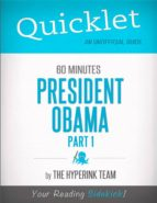 QUICKLET ON 60 MINUTES: PRESIDENT OBAMA, PART 1