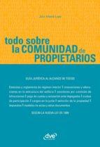 TODO SOBRE LA COMUNIDAD DE PROPIETARIOS