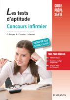 LES TESTS D'APTITUDE CONCOURS INFIRMIER