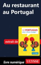 Au restaurant au Portugal (Guide de conversation) (ebook)