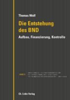 Die Entstehung des BND (ebook)