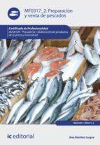 Preparación y venta de pescados. INAJ0109  (ebook)
