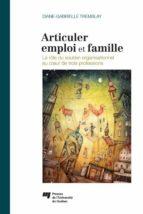 Articuler emploi et famille (ebook)