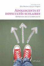 Adolescents et difficultés scolaires (ebook)