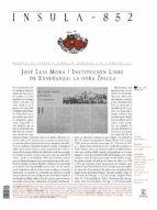 Misceláneo  (Ínsula n° 852, diciembre de 2017) (ebook)