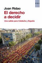 El derecho a decidir  (ebook)