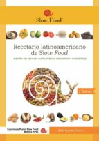 RECETARIO  LATINOAMERICANO DE SLOW FOOD