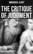 The Critique of Judgment (ebook)