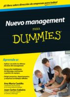 Nuevo management para Dummies (ebook)