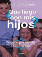 ¿Que hago con mis hijos? (ebook)