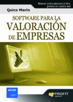 Software para la valoración de empresas