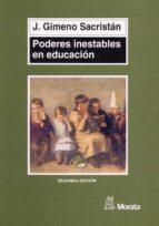 Poderes inestables en educación (ebook)