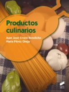 Productos culinarios (ebook)