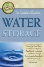 The Complete Guide to Water Storage (ebook)