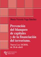 PREVENCIÓN DEL BLANQUEO DE CAPITALES Y DE LA FINANCIACIÓN DEL TERRORISMO