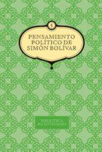 Pensamiento político de Simón Bolívar. Vol. 5 (ebook)