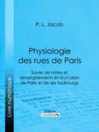 Physiologie des Rues de Paris (ebook)
