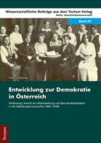 Entwicklung zur Demokratie in Österreich