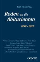 Reden an die Abiturienten (1999-2015) (ebook)