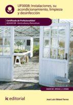 Instalaciones, su acondicionamiento, limpieza y desinfección. AGAH0108 (ebook)