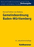 Gemeindeordnung Baden-Württemberg (ebook)