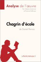Chagrin d'école de Daniel Pennac (Analyse de l'oeuvre) (ebook)