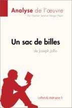 Un sac de billes de Joseph Joffo (Analyse de l'oeuvre) (ebook)