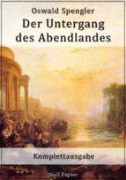 Der Untergang des Abendlandes (ebook)