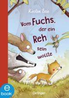 Vom Fuchs, der ein Reh sein wollte (ebook)