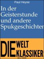 In der Geisterstunde und andere Spukgeschichten (ebook)