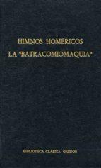 """Himnos homéricos. La """"Batracomiomaquia"""" (ebook)"""