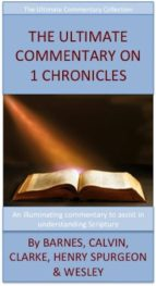 The Ultimate Commentary On 1 Chronicles (ebook)