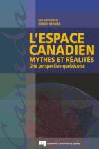 L'espace canadien (ebook)