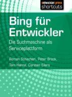 Bing für Entwickler (ebook)