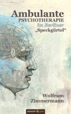 AMBULANTE PSYCHOTHERAPIE IM BERLINER