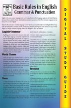 English Grammar ( Blokehead Easy Study Guide)