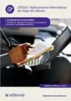 Aplicaciones informáticas de hojas de cálculo. ADGN0210 (ebook)