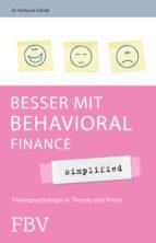 BESSER MIT BEHAVIORAL FINANCE - SIMPLIFIED