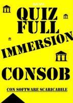 Preselezioni Concorso COADIUTORI CONSOB - QUIZ FULL IMMERSION (ebook)
