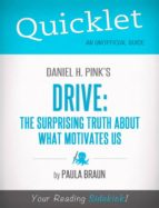 QUICKLET ON DANIEL H. PINK'S DRIVE: THE SURPRISING TRUTH ABOUT WHAT MOTIVATES US