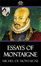 Essays of Montaigne (ebook)