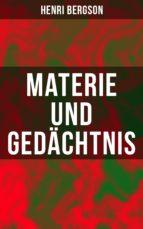 Materie und Gedächtnis (ebook)