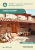 Proyecto de implantación del alojamiento rural. HOTU0109