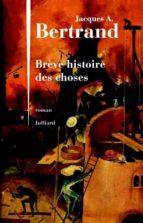 BRÈVE HISTOIRE DES CHOSES