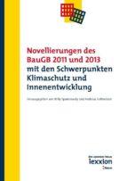 Novellierungen des BauGB 2011 und 2013 mit den Schwerpunkten Klimaschutz und Innenentwicklung (ebook)