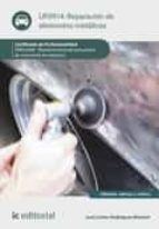 Reparación de elementos metálicos. TMVL0309 (ebook)