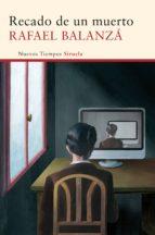 Recado de un muerto (ebook)