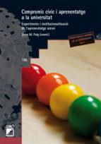 Compromís cívic i aprenentatge a la Universitat (ebook)
