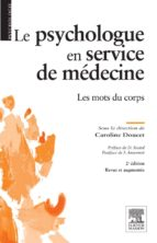 Le psychologue en service de médecine (ebook)