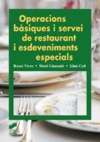 Operacions bàsiques i servei de restaurant i esdeveniments especials (ebook)